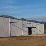 50mm 섬유 모직 위원회는 강철 구조물 창고를 조립식으로 만들었다