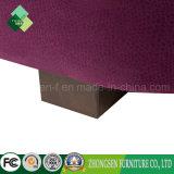 Sofà viola del tessuto della base di sofà del salone impostato per la vendita