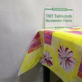 Tessuto non tessuto di alta qualità pp del rifornimento della fabbrica per Tablecolth