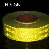 Grau de alta intensidade de cor amarela reflector prismático lençóis