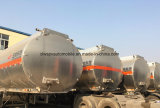 Fuwa 3 essieux remorque-citerne en alliage en aluminium 45KL pétrolier de carburant