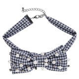 Women Bowknot Brooches Pines Ribbon Vintage Collar Shirt Dress Jewelry Necktie (BJ05)