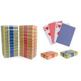 Tarjetas que juegan de papel del casino, con talla y la impresión de encargo