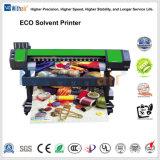 Pacto económico de la impresora solvente Eco 1,6m y 1,8m con un solo cabezal de impresión Epson