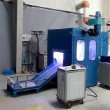 Lpg-Zylinder-automatisches Zink, das Gerät für LPG-Zylinder-Produktionszweig metallisiert