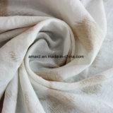 Draps en coton Dobby fils teints pour vêtements en tissu