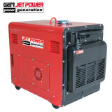 4.5Kw 6.5Kw Air-Cooled silencieux vérin unique générateur diesel avec 1 de la phase