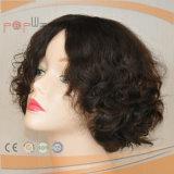 Parrucca di Short del merletto dei capelli umani di alta qualità (PPG-l-0845)