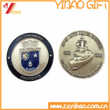 Monete in lega di zinco su ordinazione ricordo/della moneta con il bordo della rotella (YB-SM-89)