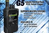 P25火の声のポケベル、消防士のためのVHF&700-800MHzの火のポケベル