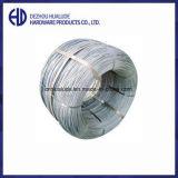Feux de croisement sur le fil de fer galvanisé à chaud de jauge de différents