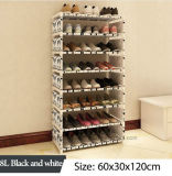 Equipamento para Engraxar os Sapatos de armário de racks de grande capacidade de armazenamento de dados móveis domésticos DIY Rack Sapata portátil simples (FS-06N)