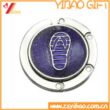 熱い販売、蝶エナメル亜鉛合金のハンドバッグのハンガー/袋のホック、(YB-BH-439)