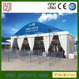 Tente commerciale de bâti en aluminium de luxe avec le logo de peinture