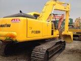 Excavatrice initiale utilisée de KOMATSU 22ton d'excavatrice de chenille de KOMATSU PC220-6
