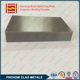 폭발성 클래딩 압력 용기를 위한 복합 재료 SUS304 강철 SA516gr70 타원체 헤드