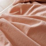HOME ajustada do fundamento luxuoso da planície do algodão do dormitório