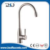 Choisir mélangeur de robinet de bec de cuisine de traitement le long en acier inoxydable