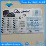Impressão personalizada de plástico antiderrapagem PP Barra de borracha antiderrapante