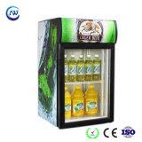 Refrigerador superior do Showcase da tabela mini para refrigerar da cerveja da bebida (JGA-SC80)