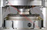 고속 두 배 저어지에 의하여 전산화되는 자카드 직물 원형 뜨개질을 하는 기계장치