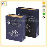 Напечатанный бумажный подарок кладет в мешки (OEM-GL010)