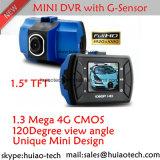 "5.0mega 차 디지털 비디오 녹화기 DVR-1502를 가진 새로운 숨겨지은 디자인 1.5 "" TFT 1080P 차 대시 사진기 비행 기록 장치"