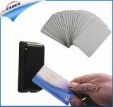 Plastikleerzeichen/Karten der Cmyk Drucken ISO-15693 RFID Karten-13.56MHz NFC PVC/Pet