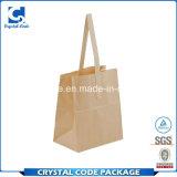 Moderne et élégant dans le sac Brown de papier d'emballage de mode