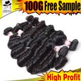 Выдвижение волос ленты 100% естественное Remy для чернокожих женщин