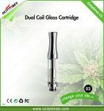 Commerce de gros Ocitytimes 0.5ml e-cigarette en verre C5-2 CBD Cartouche d'huile de chanvre