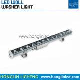 Rondella cambiante della parete di effetti LED di colore caldo di vendita 24W