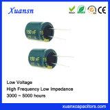 25V de Elektrolytische Condensator van het Aluminium van de Hoge Frequentie 150UF