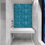 Azulejo de mosaico cuadrado decorativo del vidrio manchado de la venta de la pared caliente de la cocina