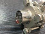 스테인리스 개머리판쇠 용접 수동 3PCS 공 벨브