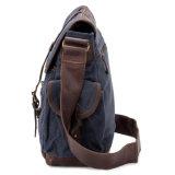 Sacchetto del messaggero della spalla della tela di canapa degli uomini di sacchetto del messaggero della macchina fotografica