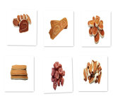 Biscuits de crabot sains organiques de Rolls de sushi de morue et de poulet