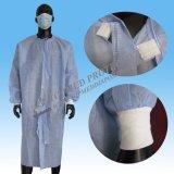 Wegwerf-PP/SMS nichtgewebtes Spunlace chirurgisches Kleid