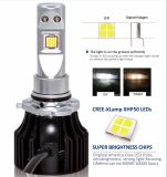 Ce, RoHS, ISO/Ts16949, ISO9001, C.C. 12V 6000K apta de Nissan Toyota Honda da certificação ISO14001 luz do automóvel do diodo emissor de luz de 1800 lúmens