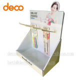 Material de papel de supermercado Cuadro promocional con ganchos