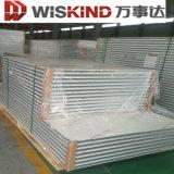 El panel de emparedado incombustible ISO-Certificado de las lanas de cristal para la azotea