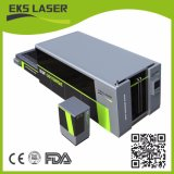 1000W tube métallique d'argent en acier inoxydable pipe machine de découpage au laser à filtre CNC