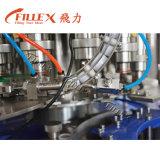 L'eau pure de la petite bouteille 3 in-1 automatique rinçant la machine recouvrante remplissante