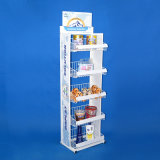 Het Rek van de Vertoning van het Staal van de Presentatie van de Producten van de Koopwaar van de kleinhandelsWinkel (PHD8039)