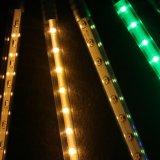 Luz impermeável do chuveiro da câmara de ar do meteoro da chuva do diodo emissor de luz IP65 por o ano novo