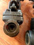 Válvula de puerta forjada del Bw de la cuerda de rosca del acero inoxidable A105
