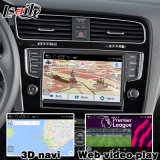 Voiture Android Interface vidéo de navigation GPS pour VW Golf 7, Touran, Passat, variante (MIB2) Mise à niveau de la navigation tactile, WiFi, bt, Mirrorlink, HD 1080p, Google Map