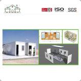 Schnelle Installations-bewegliches Fertigbehälter-Haus-Büro Flach-Packen
