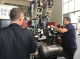 De dubbele Hoofd Perifere Machine van het Lassen met het Volgen van Apparaat