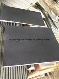 Tegels van het Basalt van Hainan de Donkere, Geslepen Grijs Basalt, Zwart Basalt voor Muur Floor&